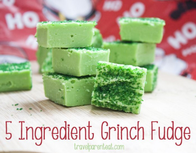 15 Ingredient Grinch Fudge | Recipe | Delicious Things | Grinch ..