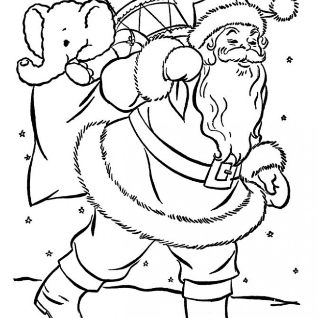 """15 """"Merry Christmas Coloring Pages"""" 15 for Adults & Kids ..."""