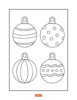 16 Christmas Coloring Pages for Kids | Shutterfly – Coloring Pages With Christmas Ornaments