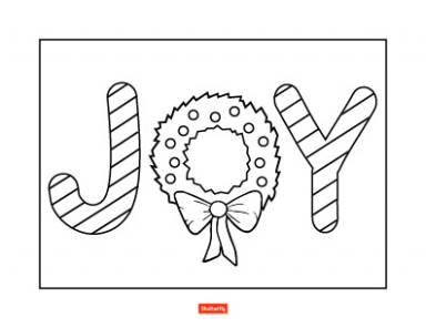 16 Christmas Coloring Pages for Kids   Shutterfly – Unique Christmas Coloring Pages