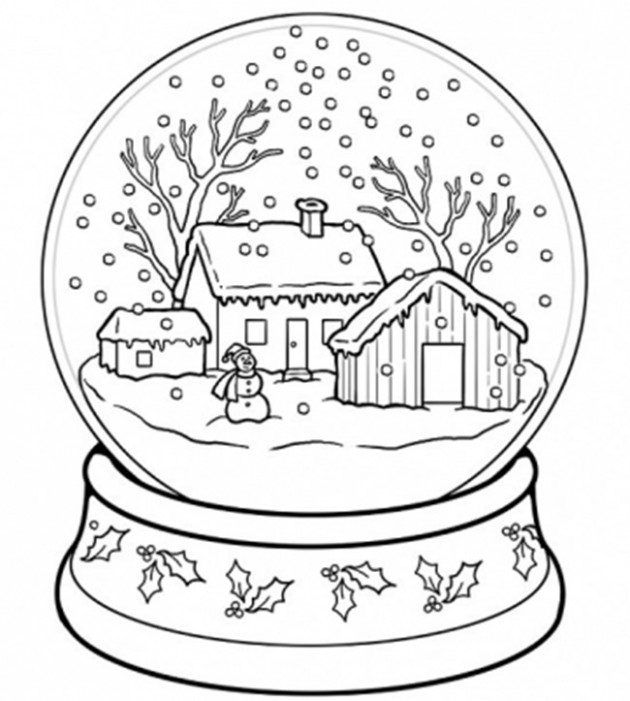 16 Christmas Printable Coloring Pages – EverythingEtsy