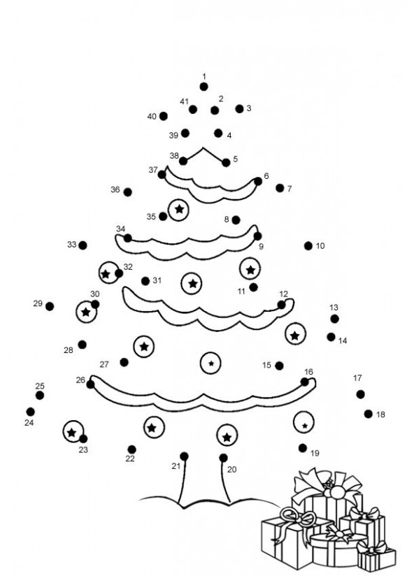 17 pics of christmas coloring pages connect the dots christmas ..