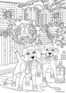 18 Best coloring Christmas images in 18 | Coloring Pages ...