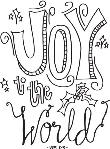 18 Cute Christmas Coloring Pages | Holly Jolly Christmas ..