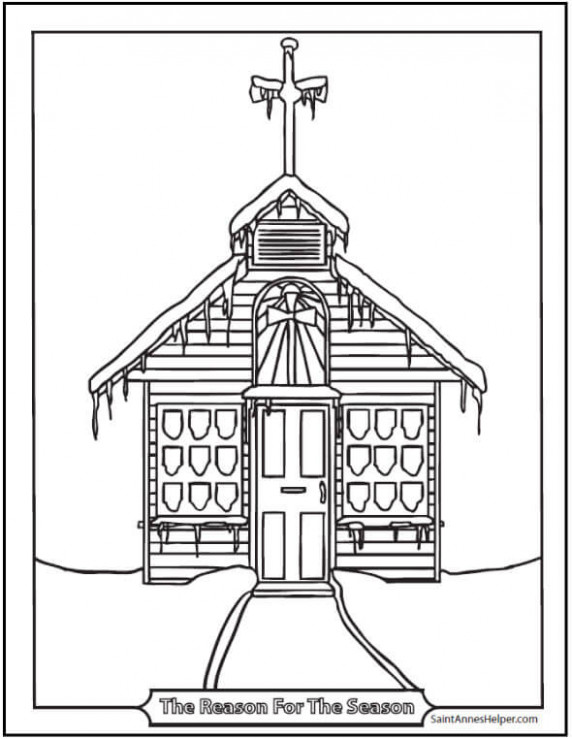 18  Printable Christmas Coloring Pages: Jesus  – Christmas Coloring Pages Church
