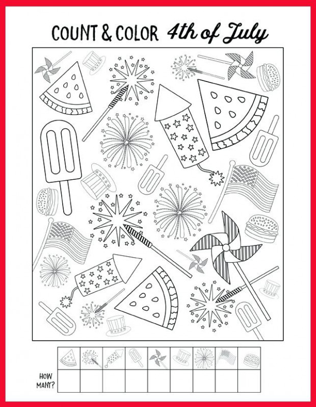 18th of july coloring pages free printables glue guns and craft ..