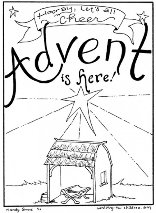 19 Best Christmas Coloring Pages – Christmas Coloring Pages For Childrens Church