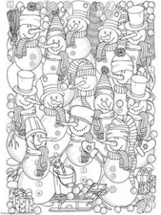 19 Best Christmas Coloring Pages images in 19 | Coloring Pages ..