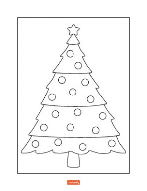 19 Christmas Coloring Pages for Kids   Shutterfly – Christmas Colouring Pages Tree