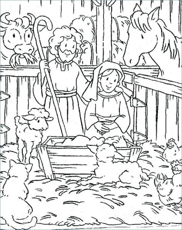 19 Free Printable Bible Christmas Coloring Pages – AIAS – Christmas Coloring Pages Bible