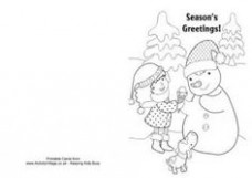 20 Best CHRISTMAS CARDS TO COLOR images in 20 | Coloring Pages ..