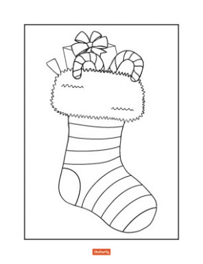 20 Christmas Coloring Pages for Kids | Shutterfly – Christmas Coloring Pages Stocking