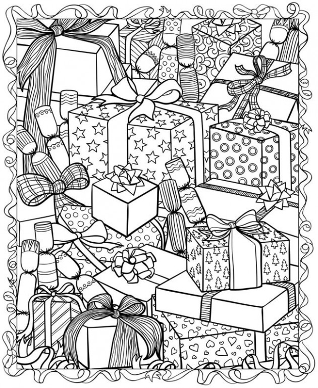 20 Christmas Printable Coloring Pages - EverythingEtsy.com