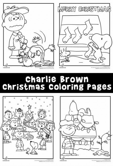 A Charlie Brown Christmas Coloring Pages | Woo! Jr