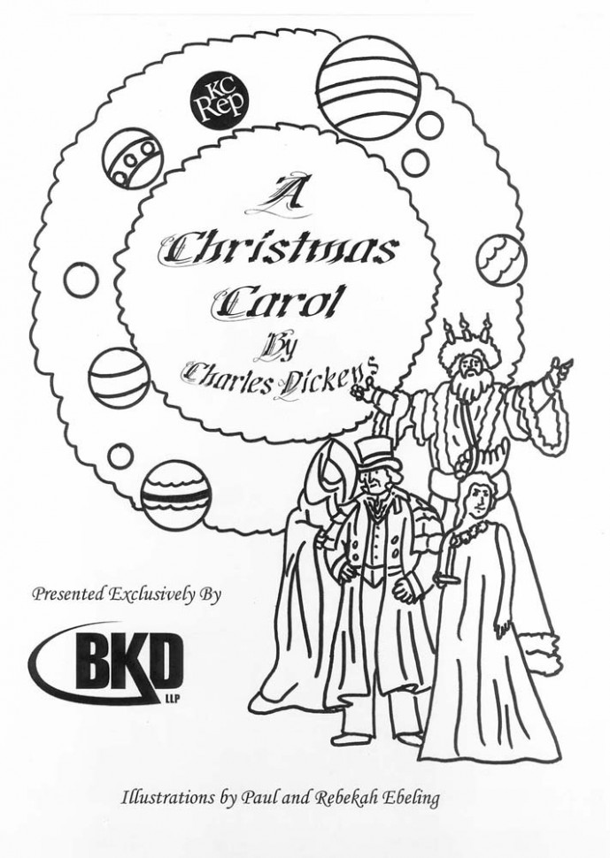 A Christmas Carol Printable Coloring Pages - creativeinfotech.info