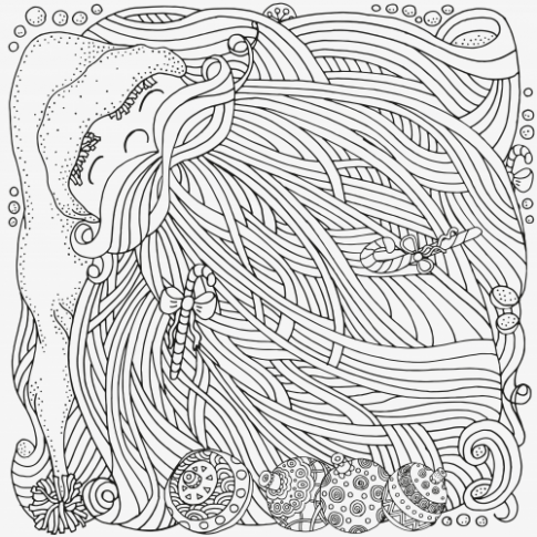 Advanced Christmas Coloring Page 17 | xmas | Christmas coloring ...