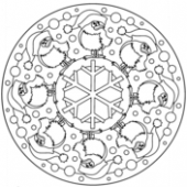Advanced Christmas coloring pages | Free Printable Pictures – Christmas Advanced Coloring Pages