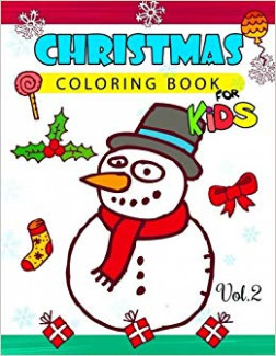 Amazon.com: Christmas coloring Books for Kids Vol.13: (Jumbo Coloring ...