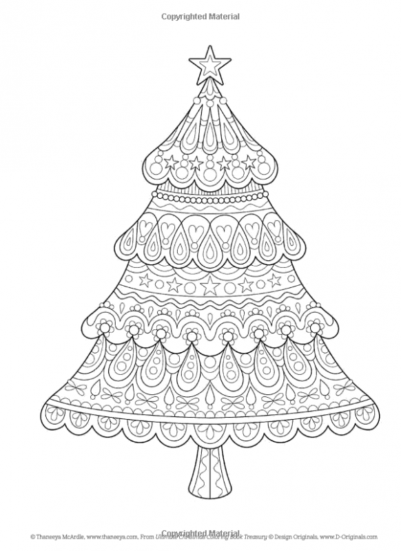 Amazon.com: Ultimate Christmas Coloring Book Treasury: Color the ..