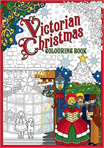 Amazon.com: Victorian Christmas Colouring Book (19): The ..