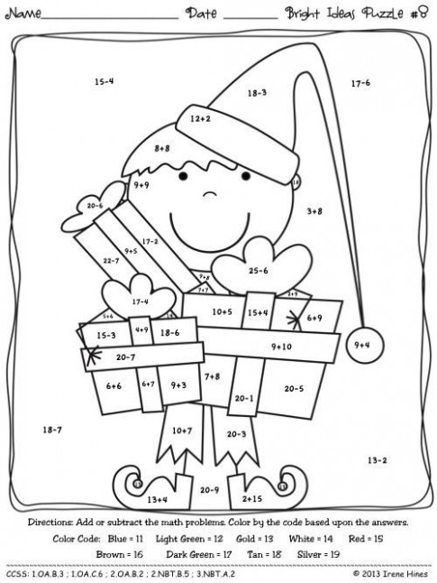 Basic Math Coloring Pages | Free coloring pages for kids | coloring ...