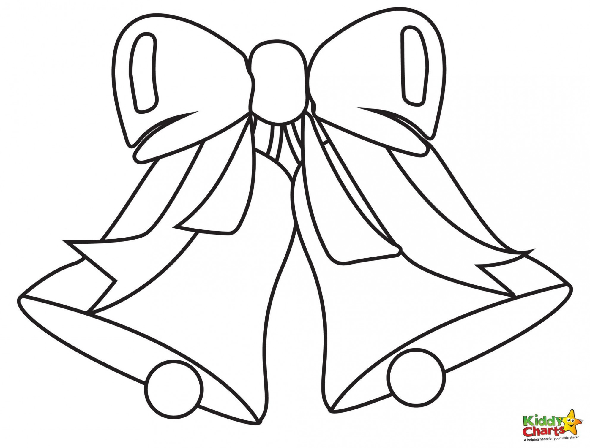 Bell Coloring Pages – Christmas Coloring Pages Jingle Bells