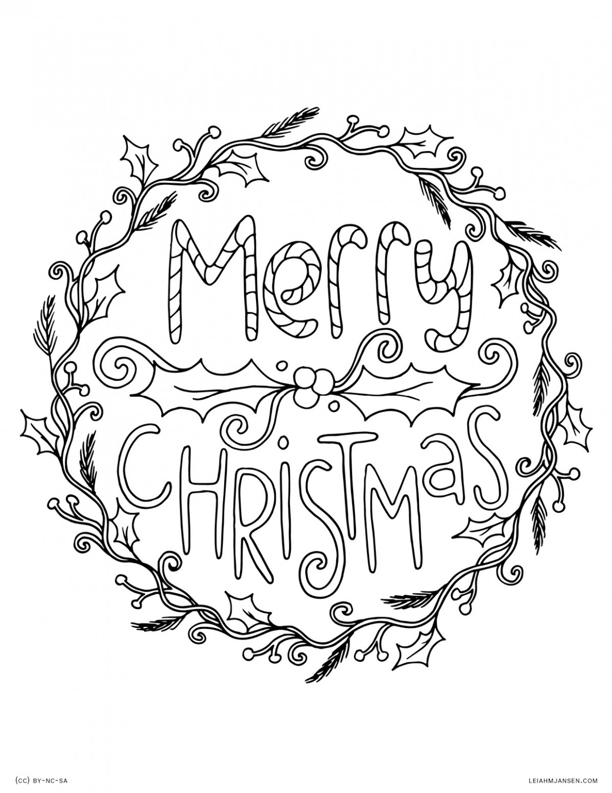 Best Christmas Coloring Pages 18 For Kids – Christmas Coloring ..