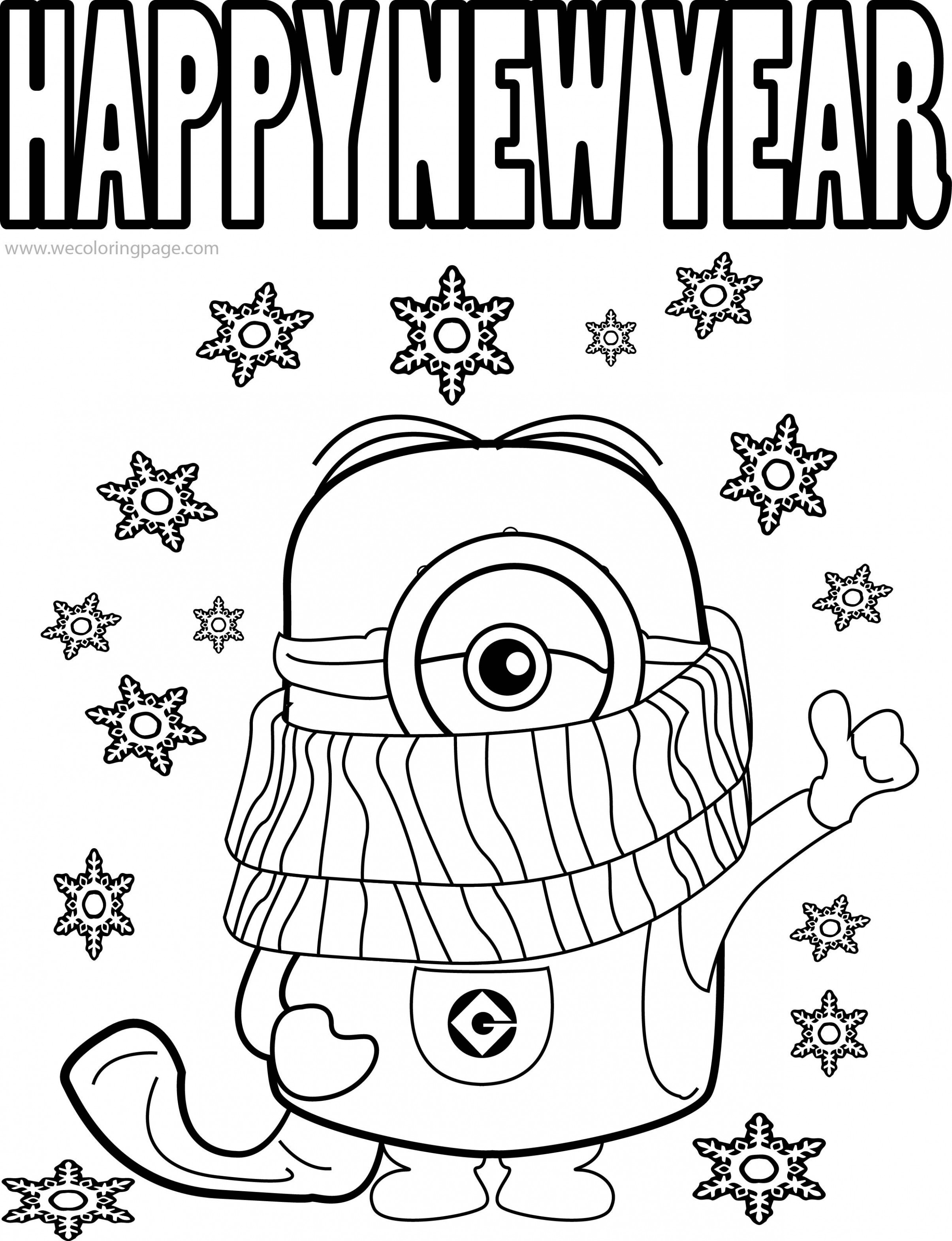 Best Funny Minions Quotes And Picture Cold Weather Happy New Year ..