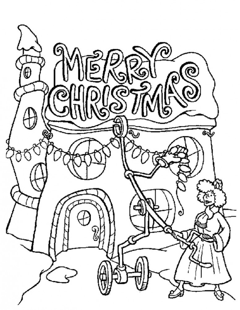 Best Of Merry Christmas Coloring Pages to and Print for Free – Free ..