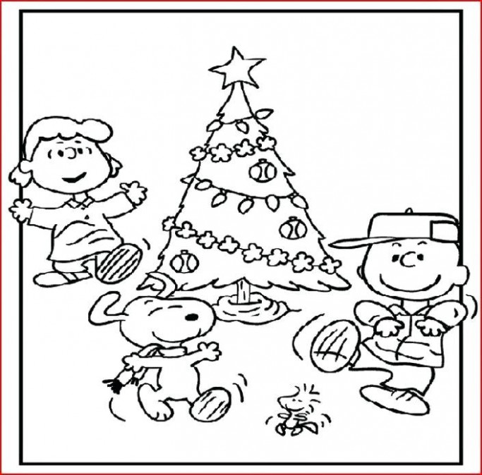 Charlie Brown Christmas Coloring Page Snoopy Coloring Pages Best Of ..