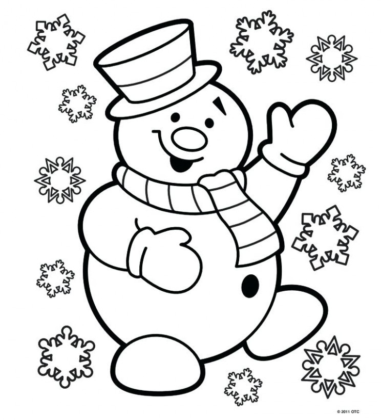 childrens christmas coloring pages – ibs-guide