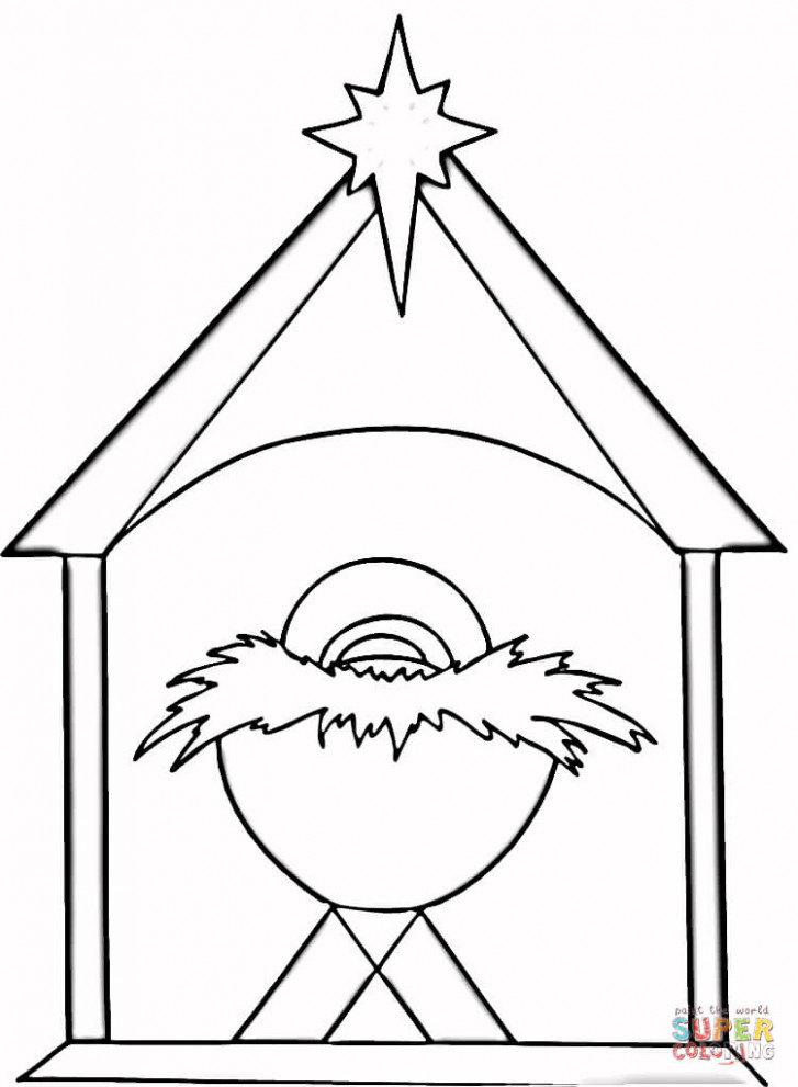 Christian Christmas coloring page   Free Printable Coloring Pages