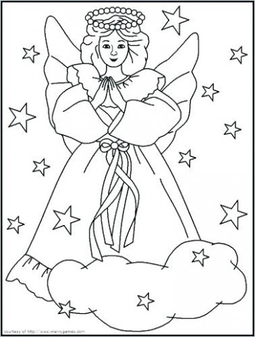 Christian Christmas Coloring Pages Free Christian Coloring Pages For ...