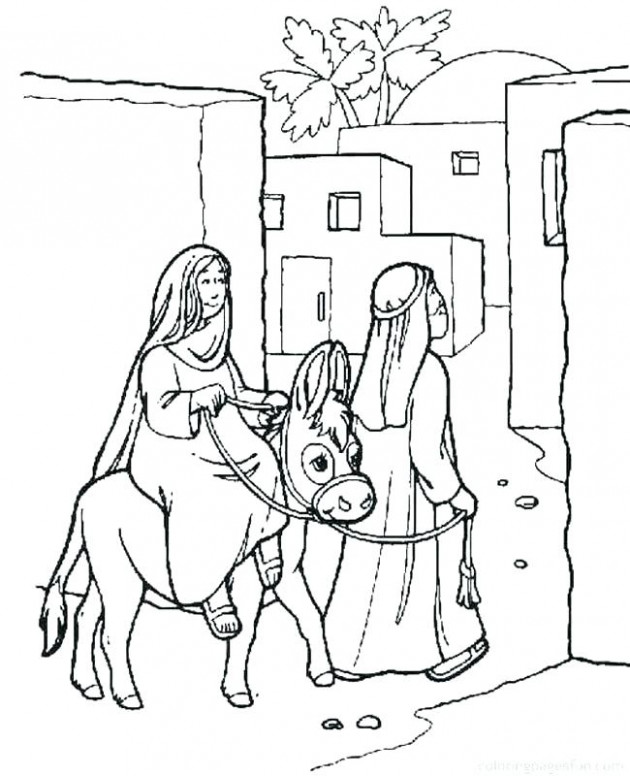 Christian Christmas Coloring Pages Free Religious Coloring Pages ...