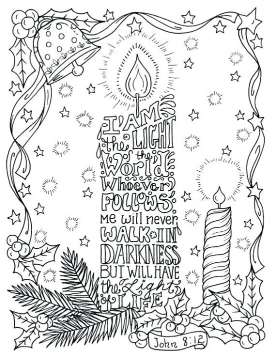 Christian Christmas Colouring Pages Coloring Pages Religious Free ..
