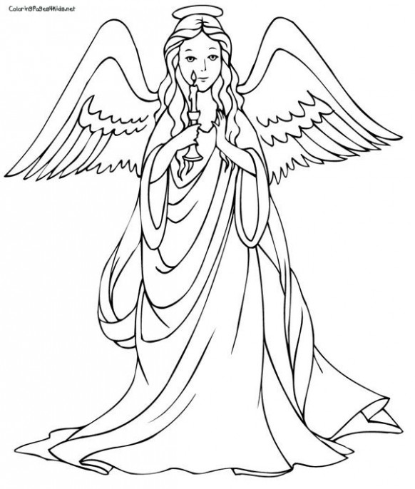 christmas angel template printable – Google Search | zentangle ..