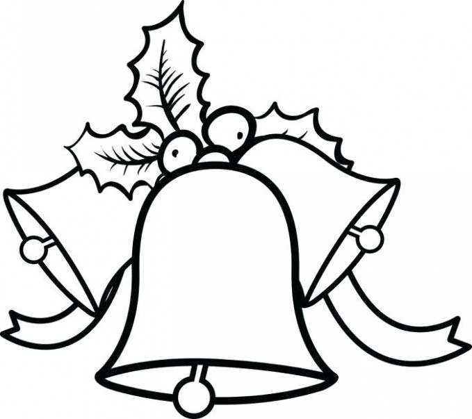 Christmas Bell Coloring Pages Coloring Pages Bell Coloring Pages ..