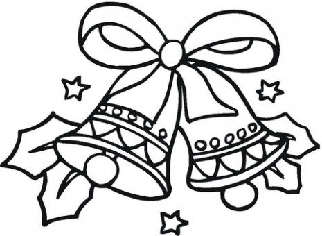 Christmas Bells coloring page | Free Printable Coloring Pages – Christmas Bell Coloring Page Printable