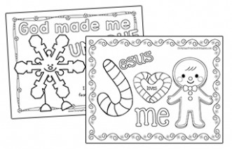 Christmas Bible Coloring Pages – Christian Preschool Printables – Christmas Coloring Pages Bible