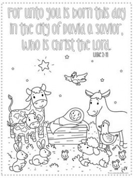Christmas Bible Verse Coloring Pages | Sunday school | Christmas ..