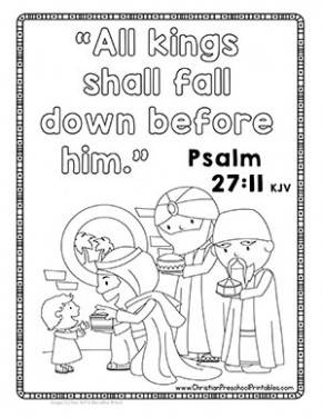 Christmas Bible Verse Printables – Christian Preschool Printables – Christmas Bible Verse Coloring Pages