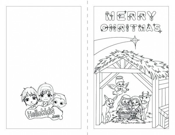 christmas card coloring page – ryanbreaux.co