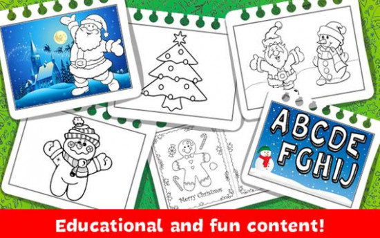 Christmas Coloring Book for Android – APK Download – Christmas Coloring Book Download
