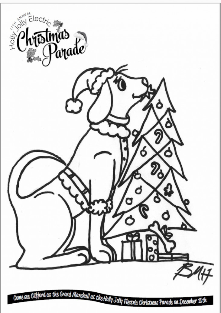 Christmas Coloring Contest – The DPA – Christmas Coloring Contest