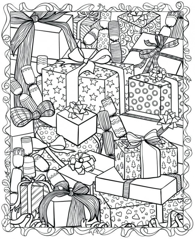 Christmas Coloring Free Coloring Pages For Adults And Kids Happiness ..