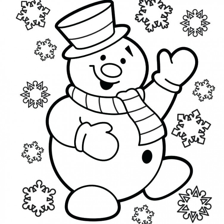 Christmas Coloring Merry Coloring Page Black And White Vector ..