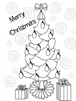 Christmas Coloring Page by Morning Coffee | Teachers Pay Teachers – Christmas Coloring Pages For Teachers