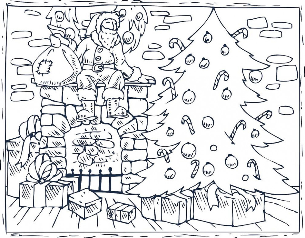 Christmas Coloring Pages: 18 Printable Coloring Pages for the ..