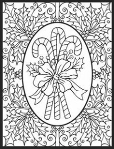 Christmas Coloring Pages by Let's Doodle   Crafts   Christmas ..