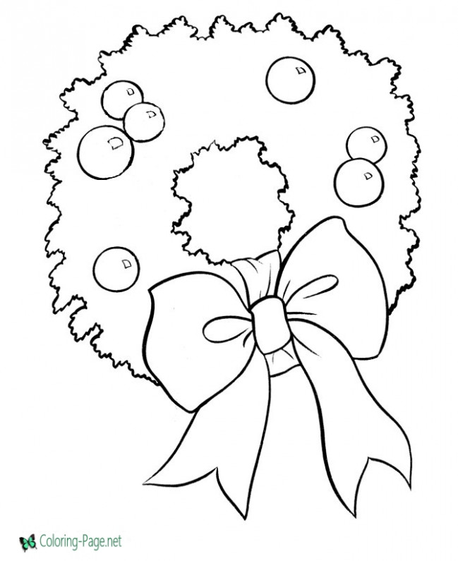 Christmas Coloring Pages – Christmas Coloring Pages Images